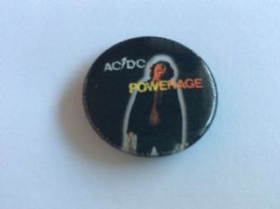 AC/DC - Powerage (25mm Button Badge)